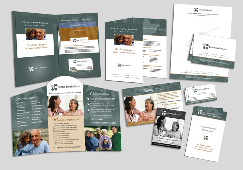 Salter HeathCare Promotional Package Design
