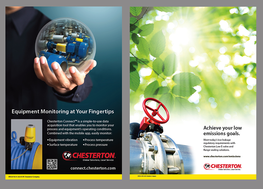 Chesterton Corporate Product Ads