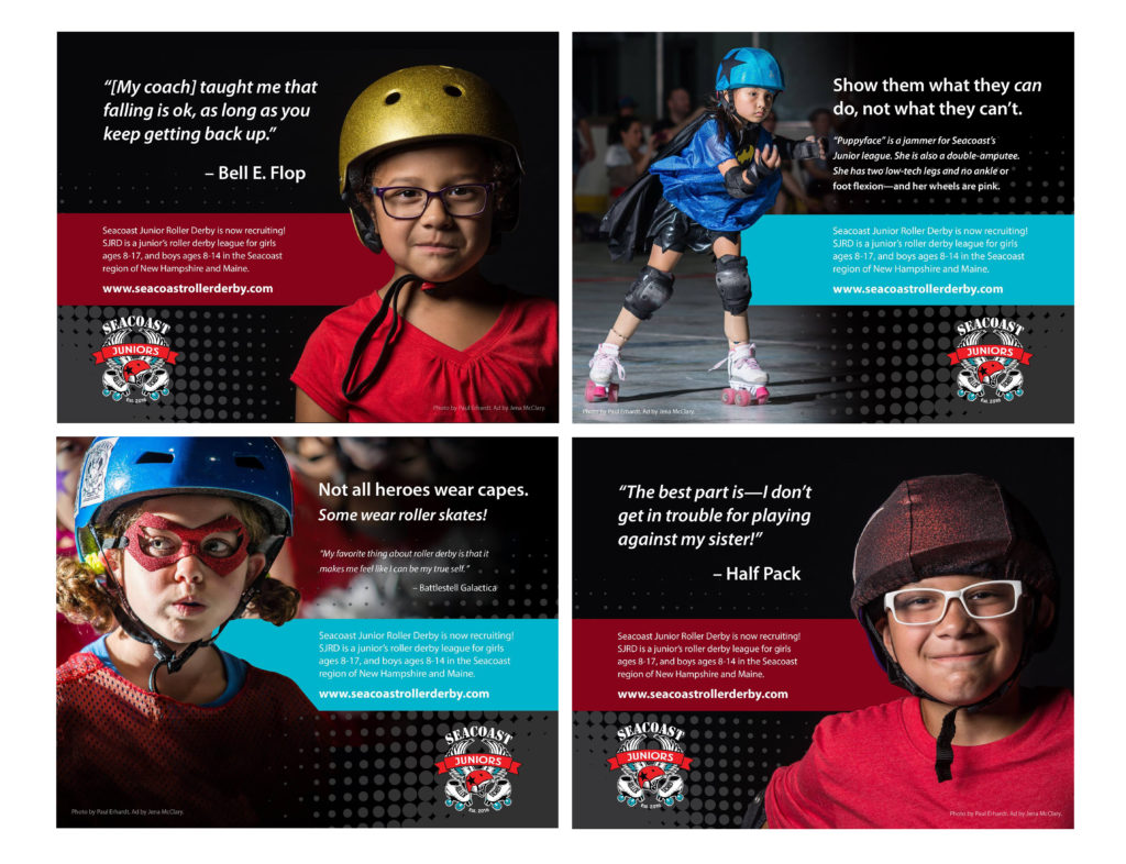 Seacoast Junior Roller Derby Recruitment Campaign